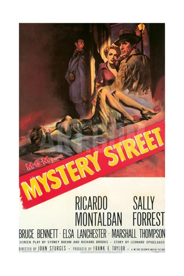1950s USA Mystery Street Film Giclee Print | Wish List for the Home