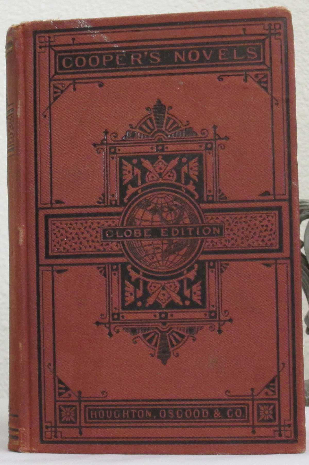 #jamesfenimorecooper #book #antique #antiquebook #vintage #vintagebook #red