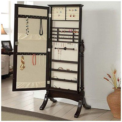 Jewelry Armoire Cheval Standing Mirror At Big Lots Jewelry Armoire Black Gold Jewelry Make Your Own Bracelet