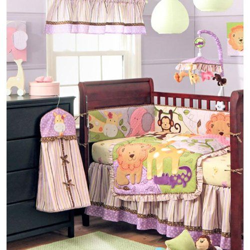 Safari Crib Bedding Set For Girls Crib Bedding Sets Crib