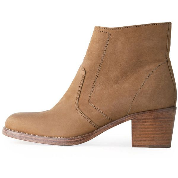 45bb65807e7e Joie Dalton Suede Western Bootie ( 340) ❤ liked on Polyvore featuring  shoes
