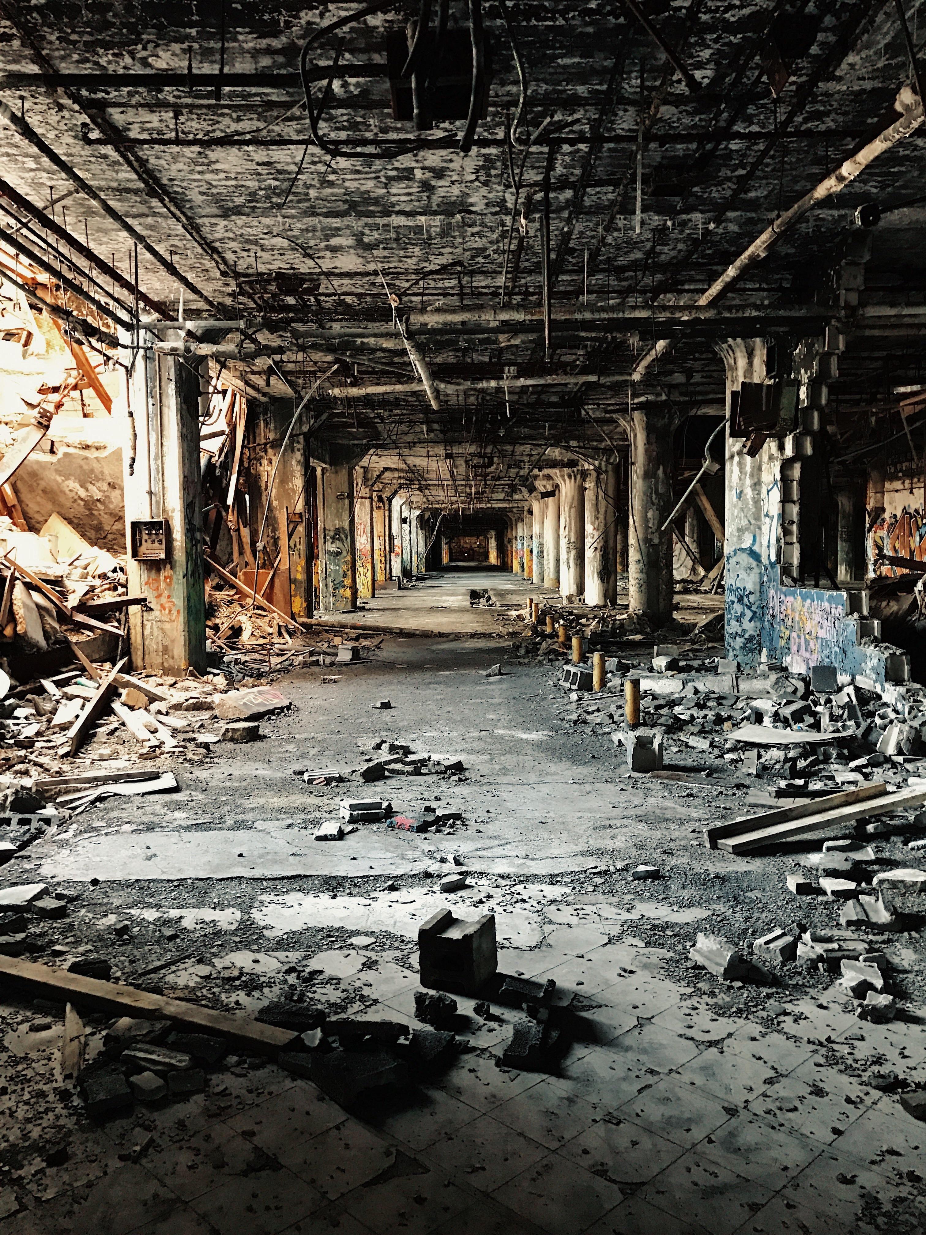 Abandoned car factory in Detroit MI [1920 x 1080] | Abandoned ... for Abandoned Car Factory  131fsj