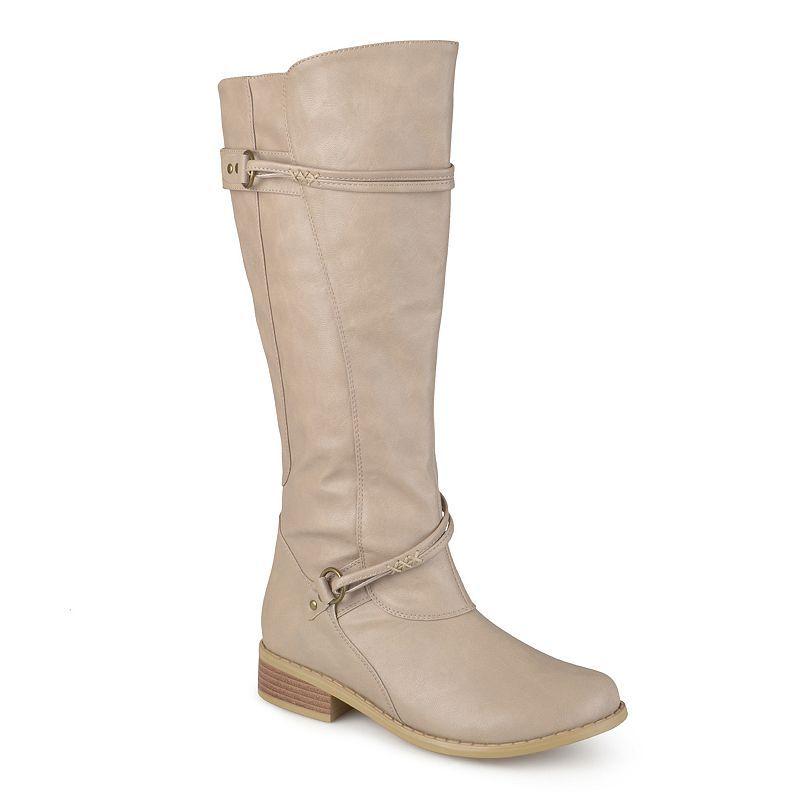 c40405344 Journee Collection Harley Women's Knee-High Boots, Girl's, Size: medium  (8.5), Lt Beige