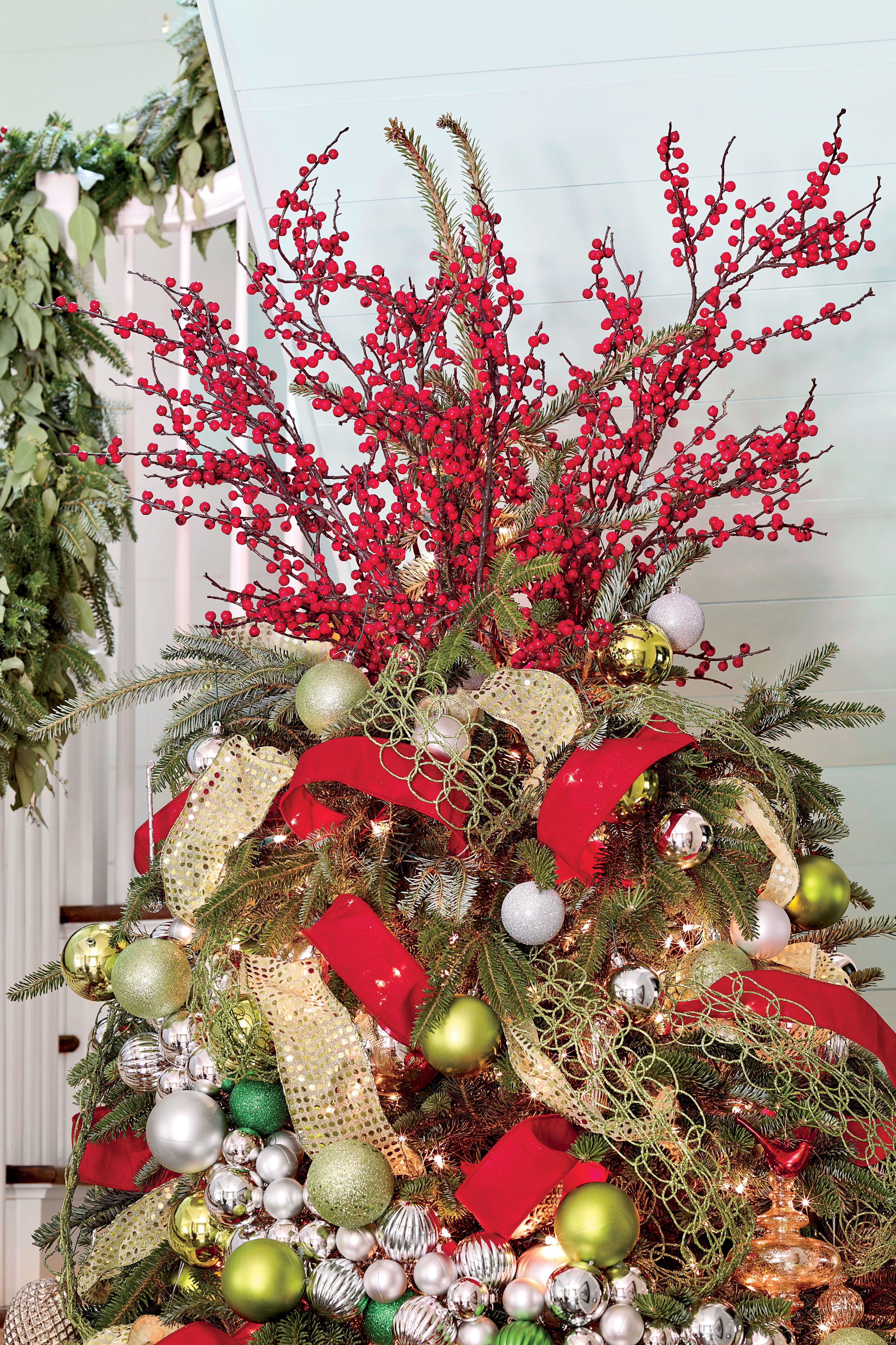 Christmas Tree Ideas For Every Style Floral Christmas Tree