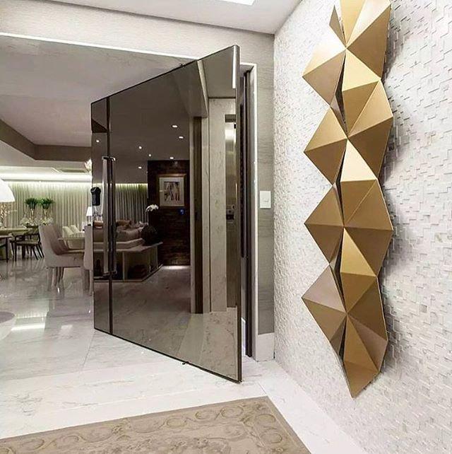 Elegancia y modernismo acceso principal arquitectura de - Diseno y arquitectura de interiores ...