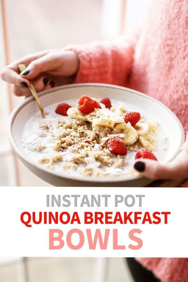Pot Make-Ahead Detox Quinoa Breakfast Bowls This make-ahead quinoa breakfast bowl is perfect for a quick breakfast on-the-go. It is a dairy-free, nut-free, and vegan option that you will surely enjoy!This make-ahead quinoa breakfast bowl is perfect for a quick breakfast on-the-go. It is a dairy-free, nut-free, and vegan option th...