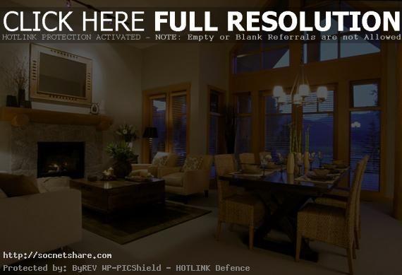 Wohnzimmer Lounge ~ Wie dekorieren ein wohnzimmer und esszimmer kombination lounge