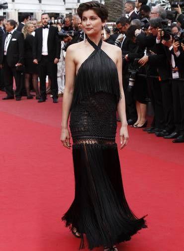 A modelo e atriz francesa Laetitia Casta também compareceu Foto: Lionel Cironneau / AP