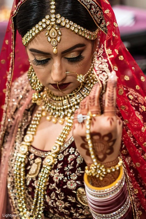 0af1c073e1 Mesmerizing Indian bride jewelry. http://www.maharaniweddings.com/gallery.  Visit. January 2019