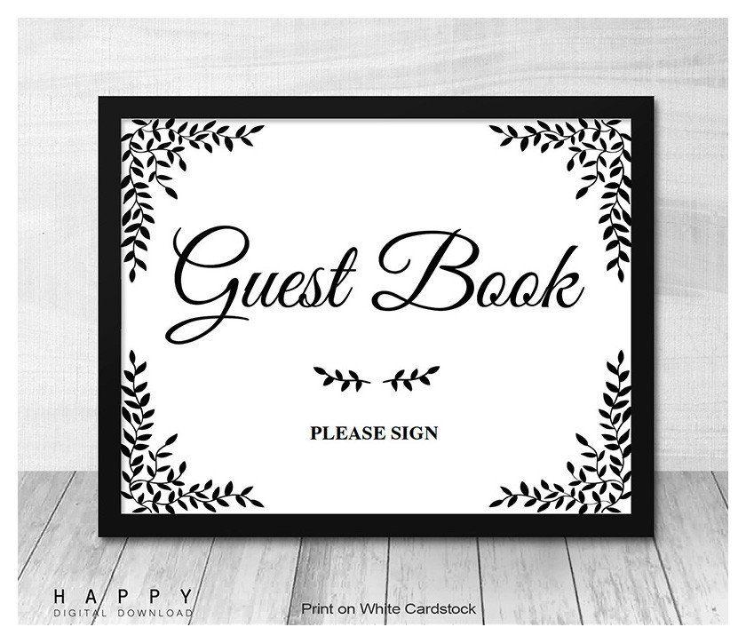 Printable Wedding Signs Template Instant Editable Pdf File Diy Custom