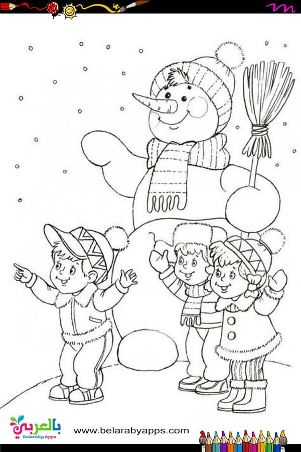 Free Printable Snowman Coloring Pages For Kids Belarabyapps Snowman Coloring Pages Coloring Pages Winter Christmas Coloring Pages