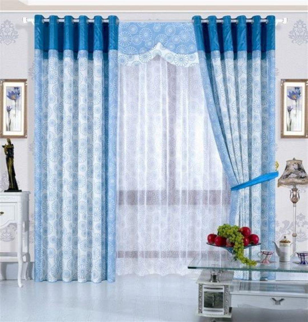 Modern Living Room Curtain For Pretty Home Design Ideas 11