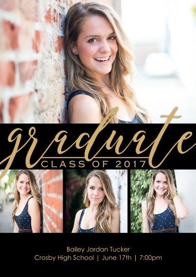 2016 graduation announcements grad announcements snapfish