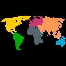Continents map svg picture cricut pinterest cricut continents map svg picture gumiabroncs Image collections
