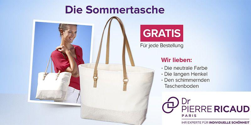 Gratis Sommertasche + bis zu 65% Rabatt bei Dr. Pierre Ricaud