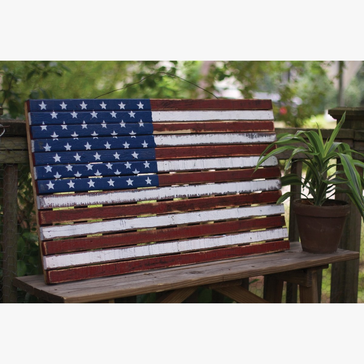 Let The Symbol Of American Freedom Grace Your Mantel Or Wall All Year Long  With This
