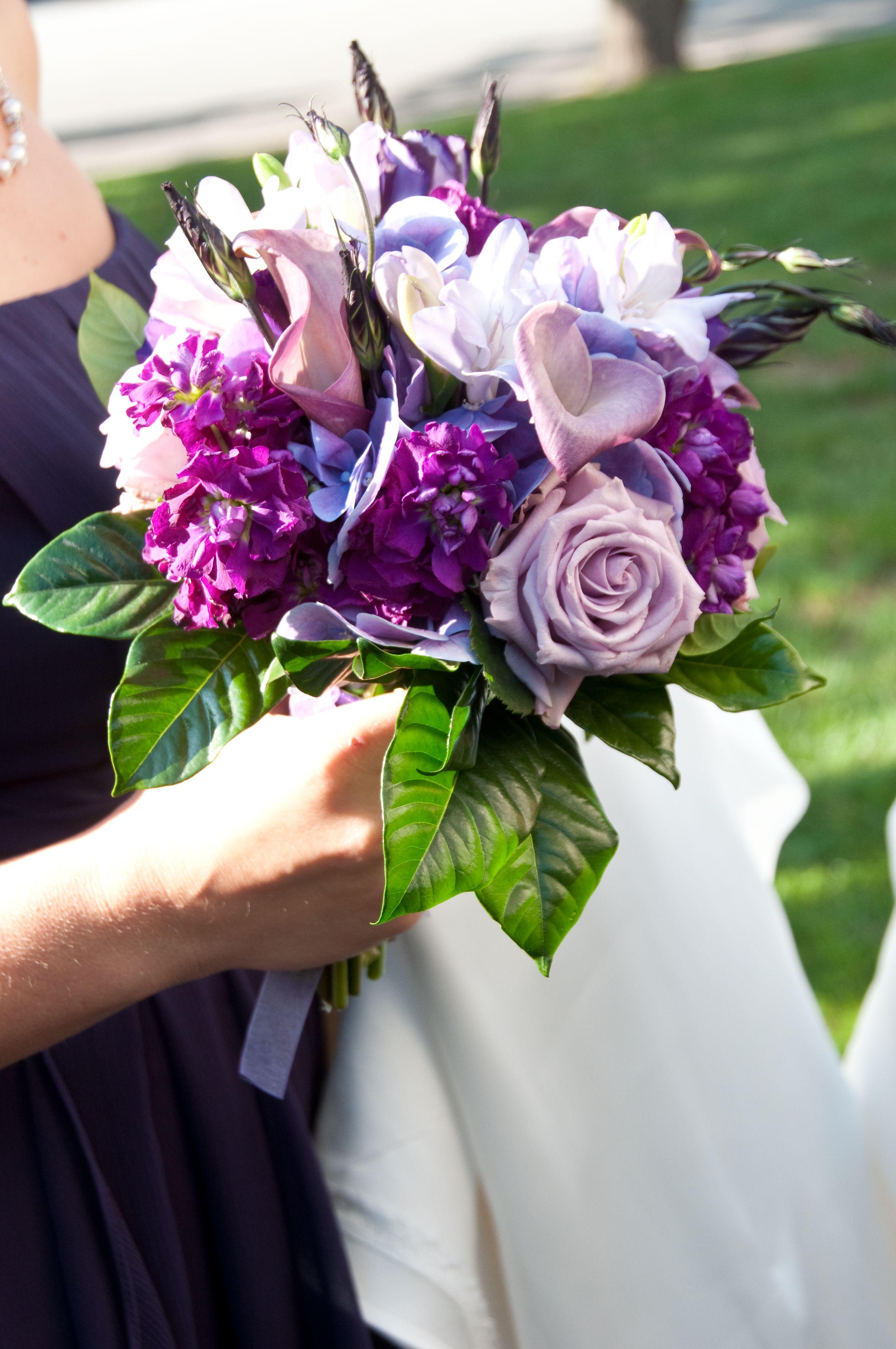 Purple and Lavender Bouquet Lavender bouquet, Wedding