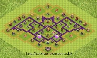 Pertahanan Base Coc Th 7 Terkuat 4