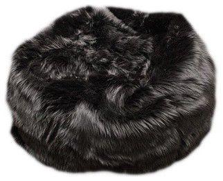 Fuzzy Fur Bean Bag Chair