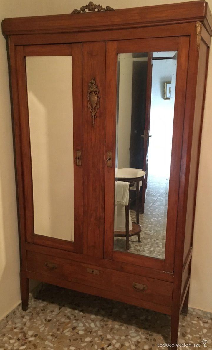 Antiguo armario con espejos. años 50 | Armoires