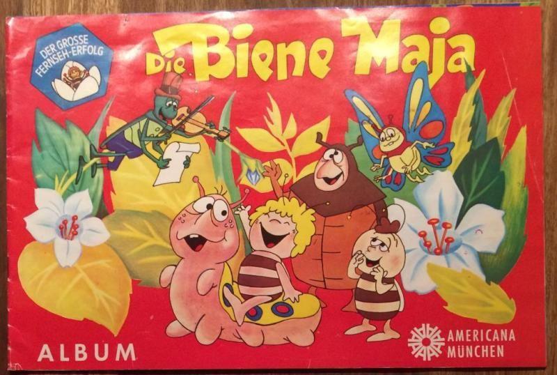 """Verkaufe ein sehr gut erhaltenes Sticker-Sammelalbum von Americana München - """"Die Biene Maja"""" von 1977. Es ist nicht komplett (siehe Fotos).Nichtraucher- und haustierfreier Haushalt.Für Selbstabholer (HH-Fuhlsbüttel oder HH-Innenstadt)!Versand nach Absprache möglich.Privatverkauf!Keine Rückgabe oder Umtausch!Keine Garantie und keine Gewährleistungen!"""