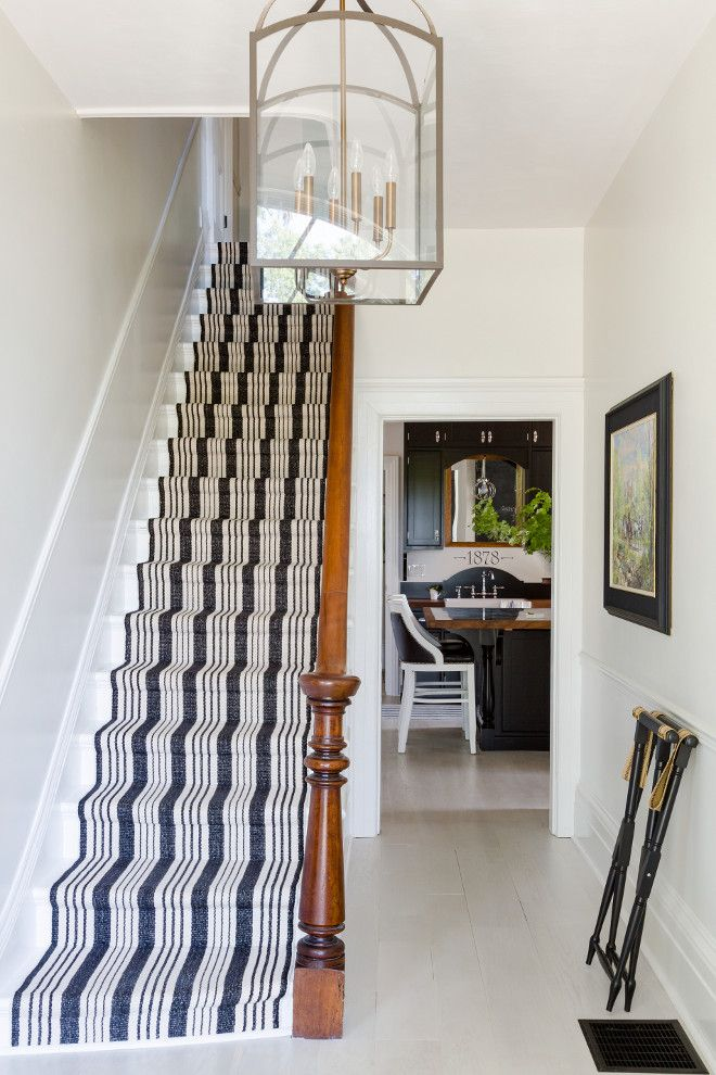 Wonderful Stair Runner Is Dash U0026 Albert. Striped Stair Runner. Stair Runner Is Dash U0026  Albert. Farmhouse Striped Stair Runner. In The Foyer A Fun Striped Dash And  ...