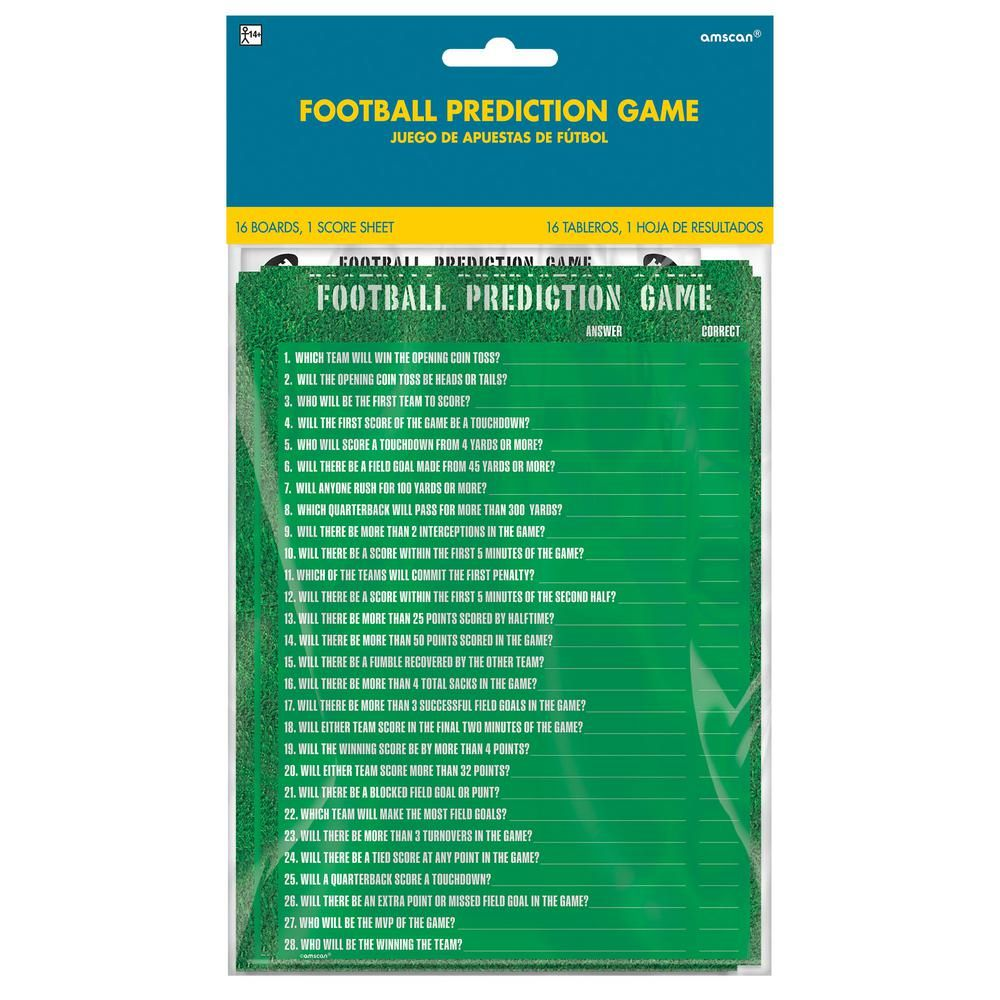 Amscan 30 in  Football Prediction Game | Products | Football