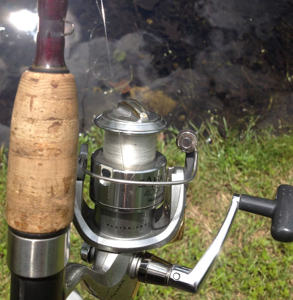 How To Setup And Use A Spinning Rod And Reel Rod And Reel Fishing Reels Spinning Reels