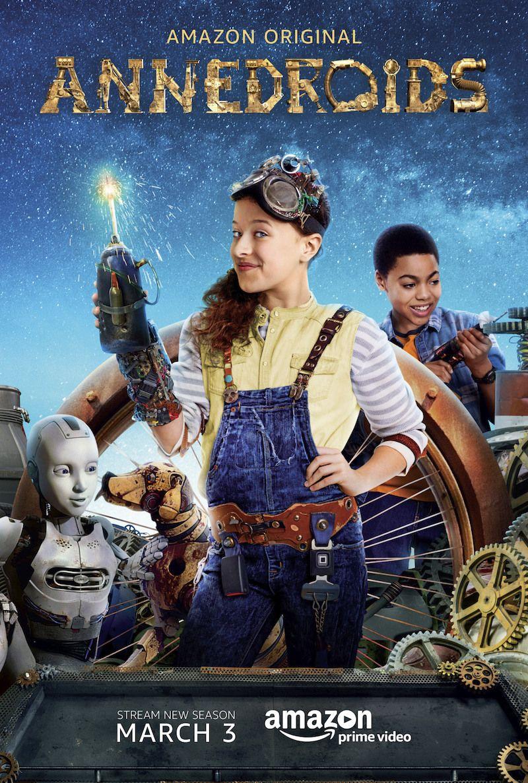 Preview Amazon Original Kids Series ANNEDROIDS Season 4