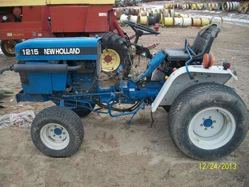 Ford New Holland 1215 Tractor For Used Parts Call 877 530 4430