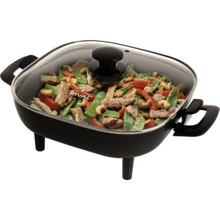 Small Square Electric Frying Pan