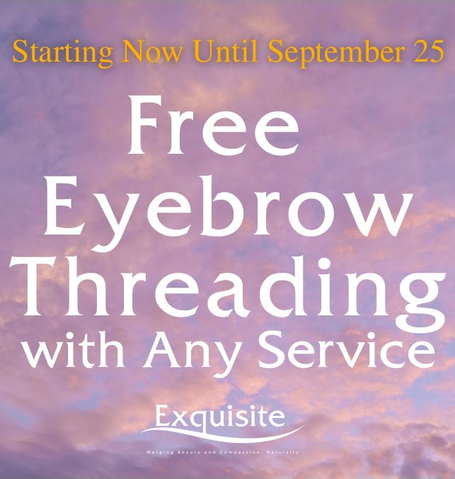 Heard The Buzz At Exquisite Threading For Limited Time Free