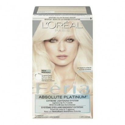 L Oreal Paris Feria Absolute Platinum Lightening Hair Color