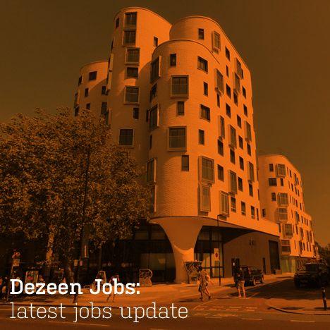 Dezeen Jobs: Most Recent Jobs Update - http://www.295luv.com/architecture/dezeen-jobs-latestnewestmost-recentmost-current-jobs-update-2.html