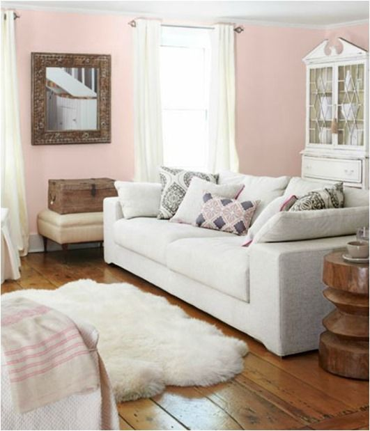 Country Living Room Design Beauteous Country Living Pink Walls  Dreaming Of Home  Pinterest  Pink Design Decoration