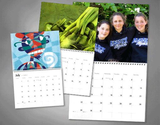 Get yourself a personalised calendar to see your photos in a new way