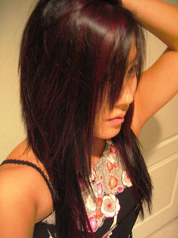 35 brilliant dark brown hair with highlights slodive