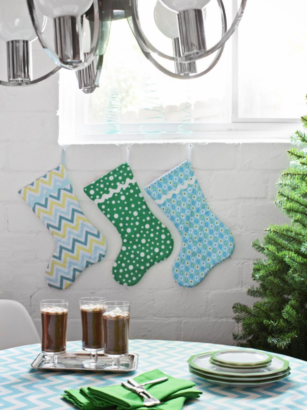 Modern christmas decor color palette and schemes for rooms in your home hgtv