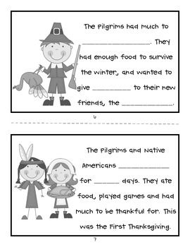 image relating to Thanksgiving Printable Book known as Very first Thanksgiving Printable Mini Reserve Doodle Artwork Initially