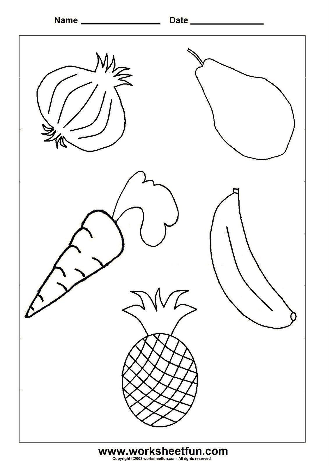 Vegetables Worksheet For Kindergarten D Dµd D My Food N D D D N D Dº In 2020 Kindergarten Worksheets Preschool Crafts Worksheets For Kids