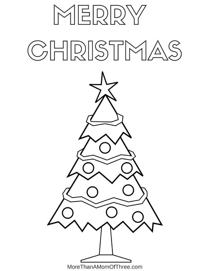 Free Printable Christmas Coloring Pages For Kids More Than A Mom Of Three Merry Christmas Coloring Pages Printable Christmas Coloring Pages Christmas Coloring Pages