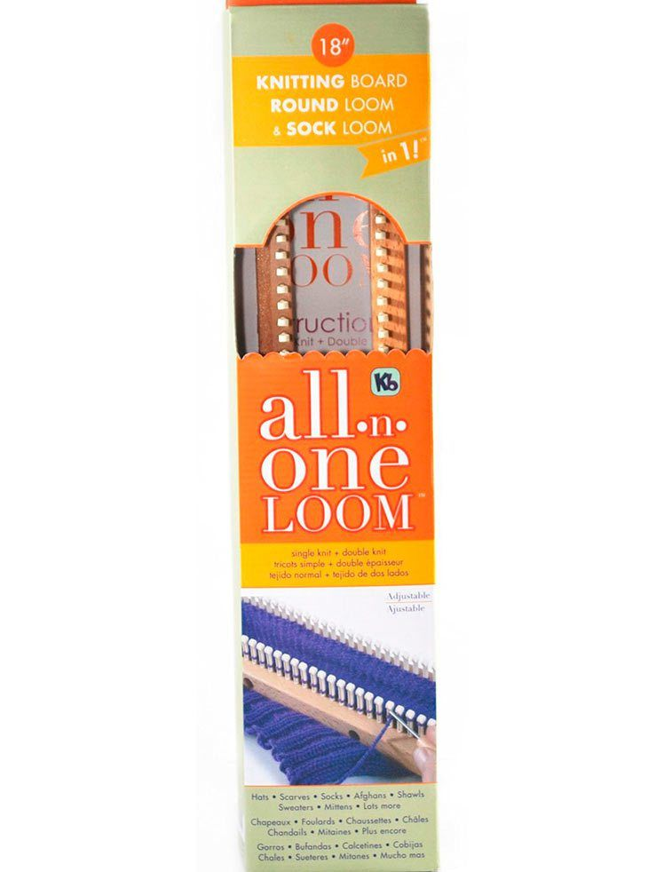 Knitting Board All In One Loom Round Loom And Sock Loom Tricotin