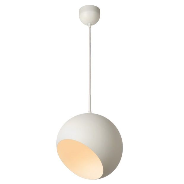 Lucide Bobo Hanglamp Ø 28 cm - Wit