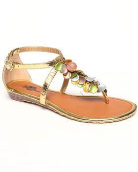 Apple Bottoms - Beaded Thong Sandal