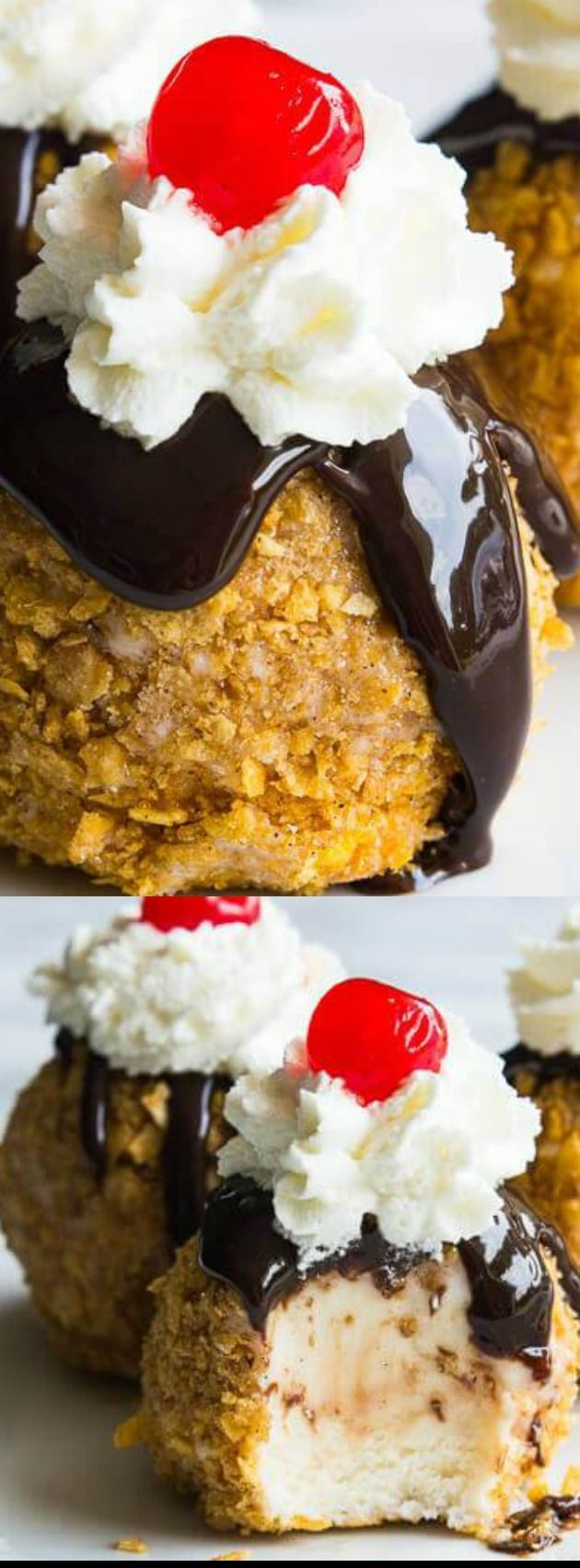 An easy to make mexican fried ice cream all the flavors of the an easy to make mexican fried ice cream all the flavors of the classic without the actual frying perfect individual desserts for summer forumfinder Choice Image