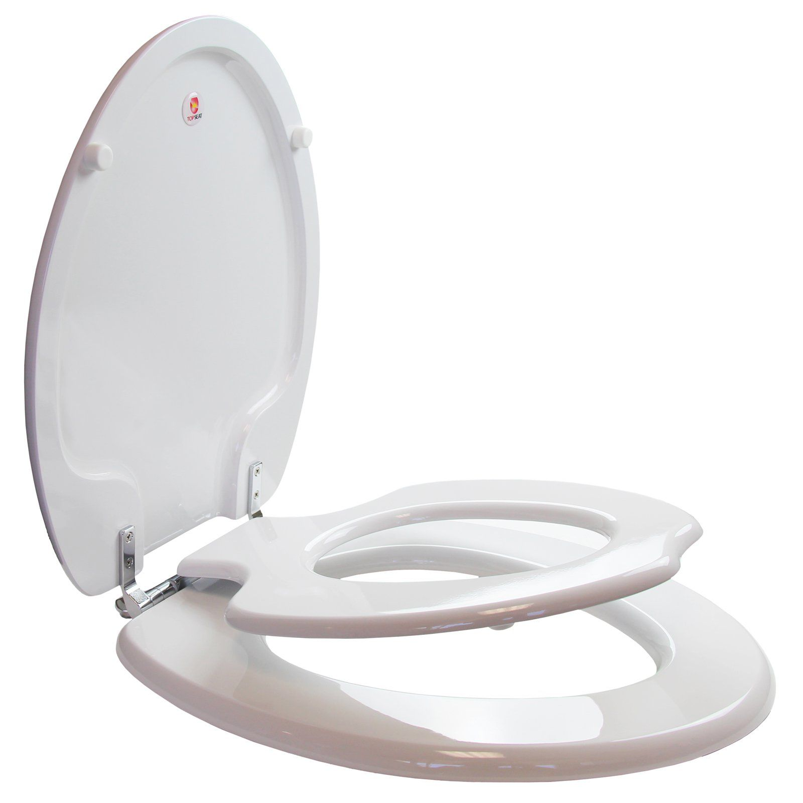 Topseat 6tste9999cp Tinyhiney Potty Elongated Toilet Seat Toilet