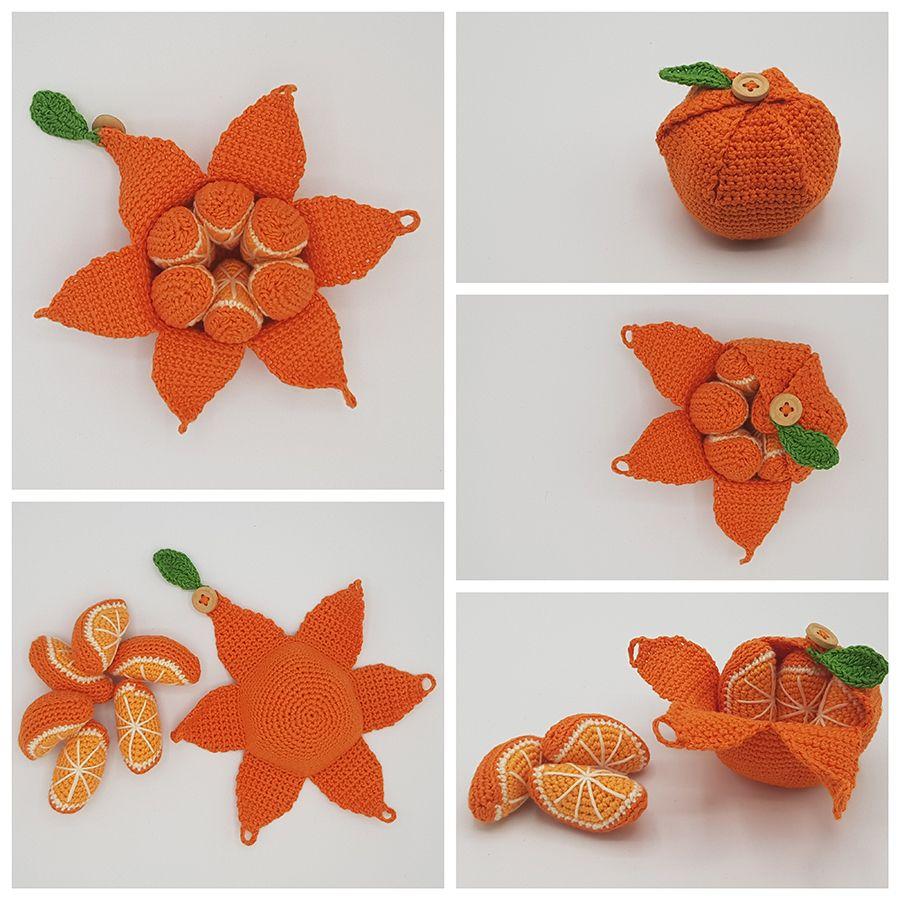 Free pattern for crocheted orange – Karla's orange - Ritohobby.co.uk