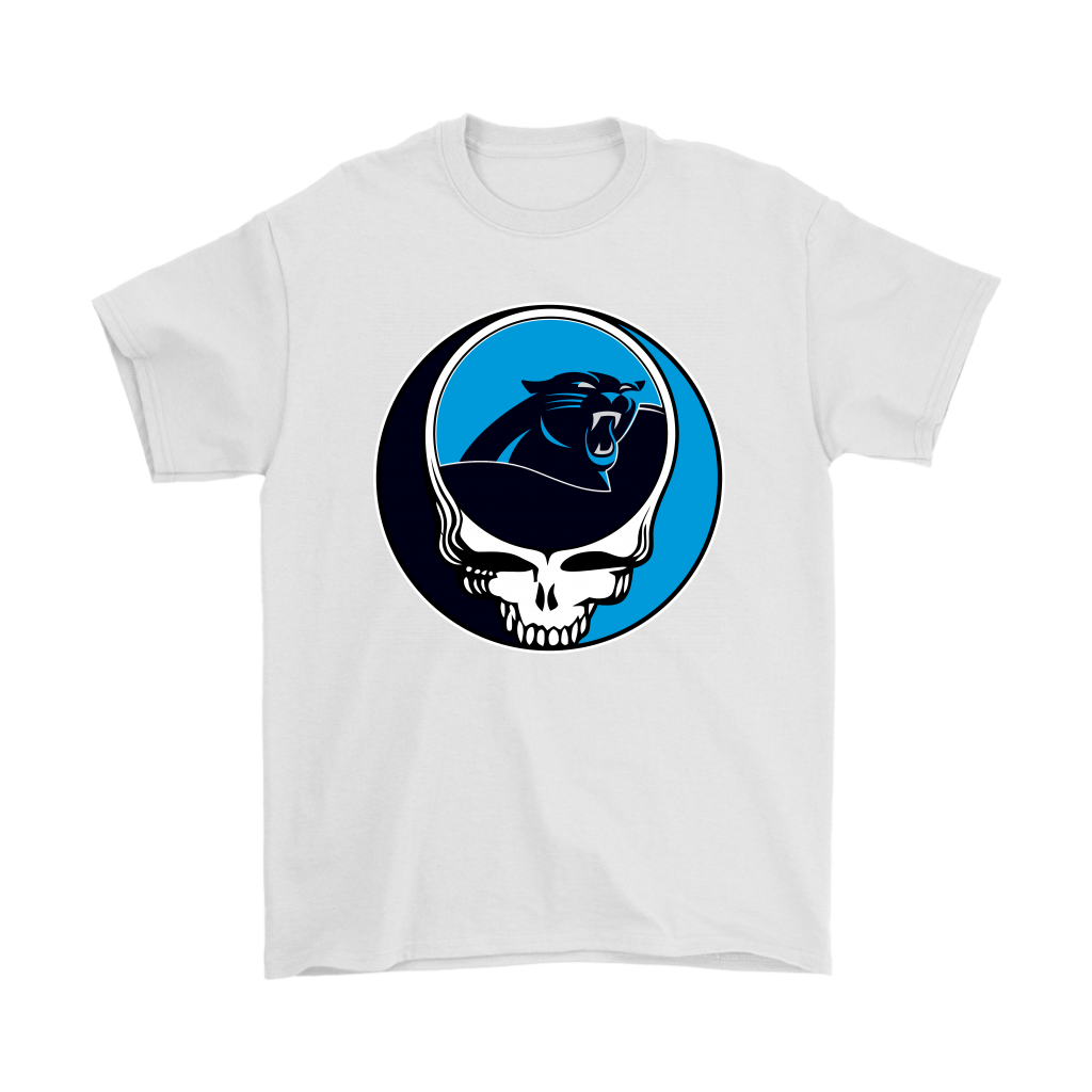 83ec15e0 NFL Team Carolina Panthers x Grateful Dead Logo Band Shirts in 2019 ...