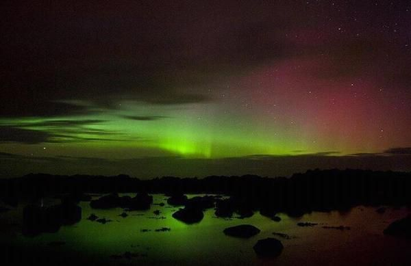 Northern Lights from Ireland 2012 - gorgeous!