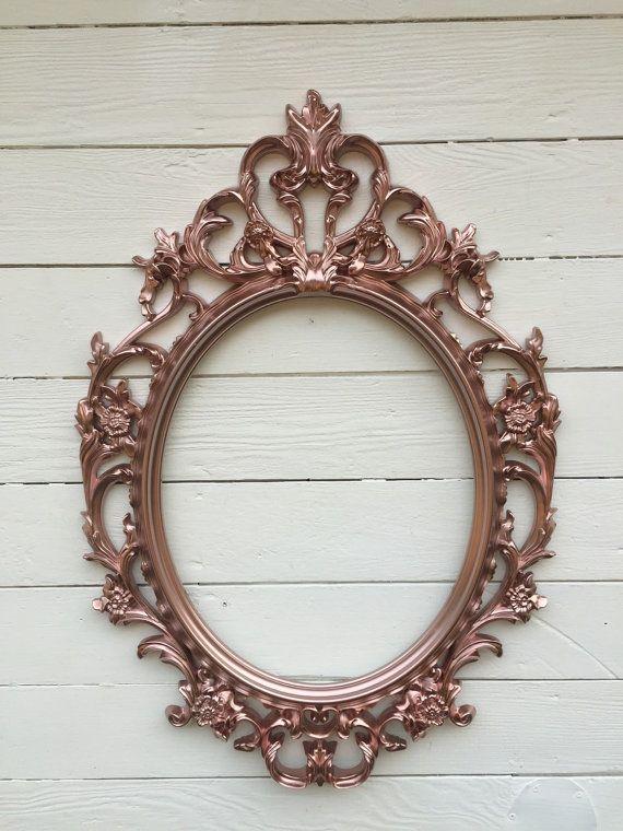 Rose Gold Frame Wedding Picture Frame Photo Prop By Farmhousefare Cerceveler Kendin Yap Sanat Kendin Yap Ev Icin Elisleri